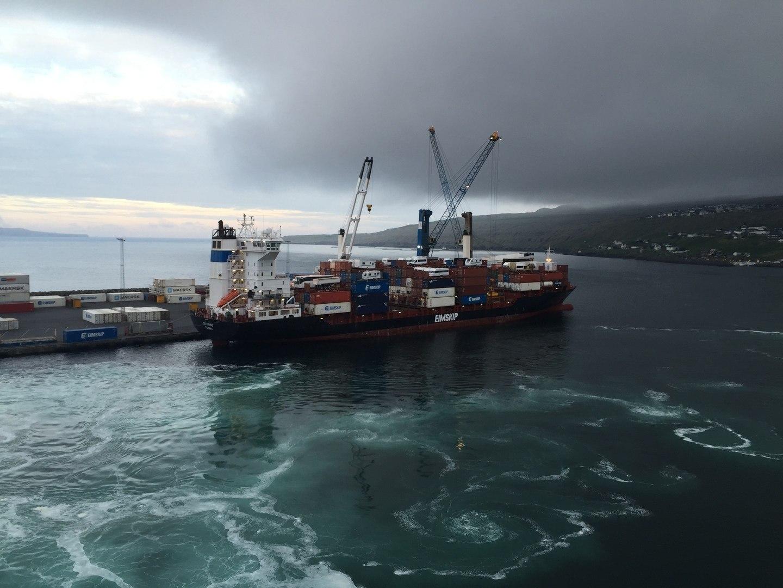 12 juin : traversée vers les Iles Féroé et arrivée à Torshavn