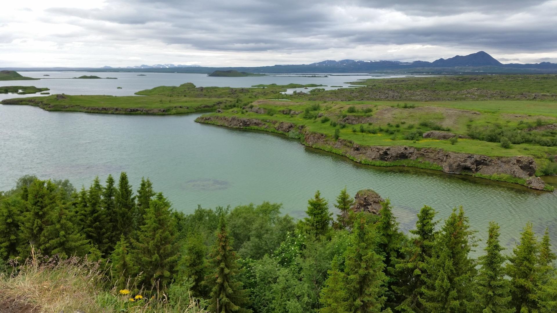 25 juin : de Husavik au lac Myvatn