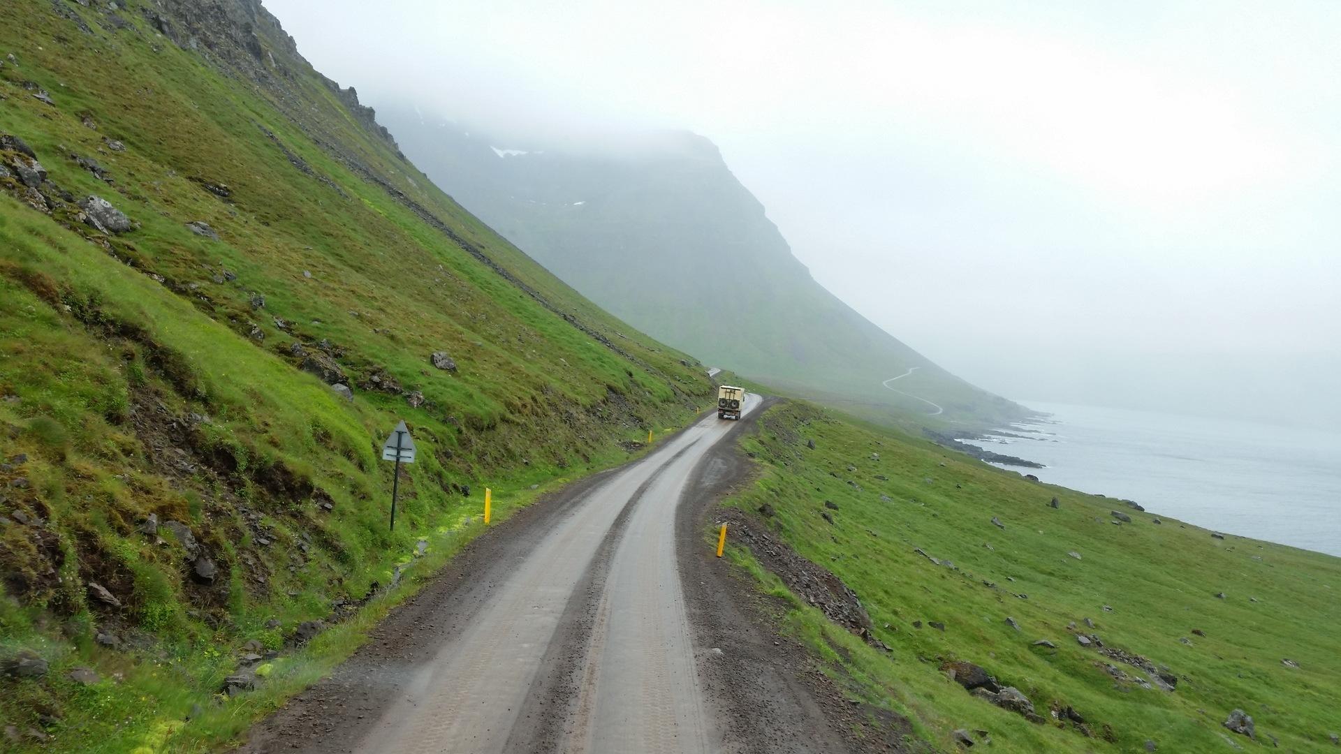 2 juillet : de Kollafjardarnes à Ofeigsfjordur