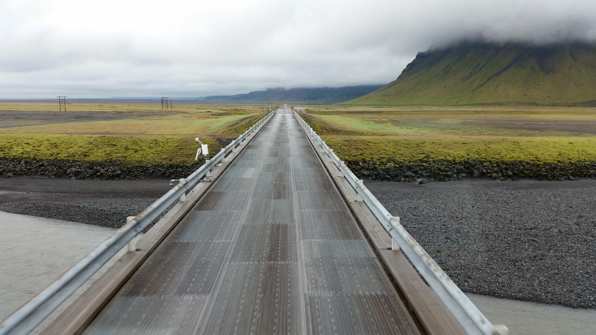 17 août : de quelque part sur la piste 939 à Kirkjubæjarklaustur
