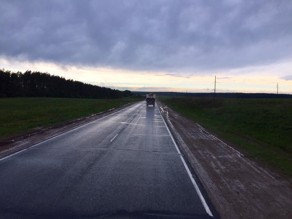 En route pour Ekaterinbourg - 1er jour