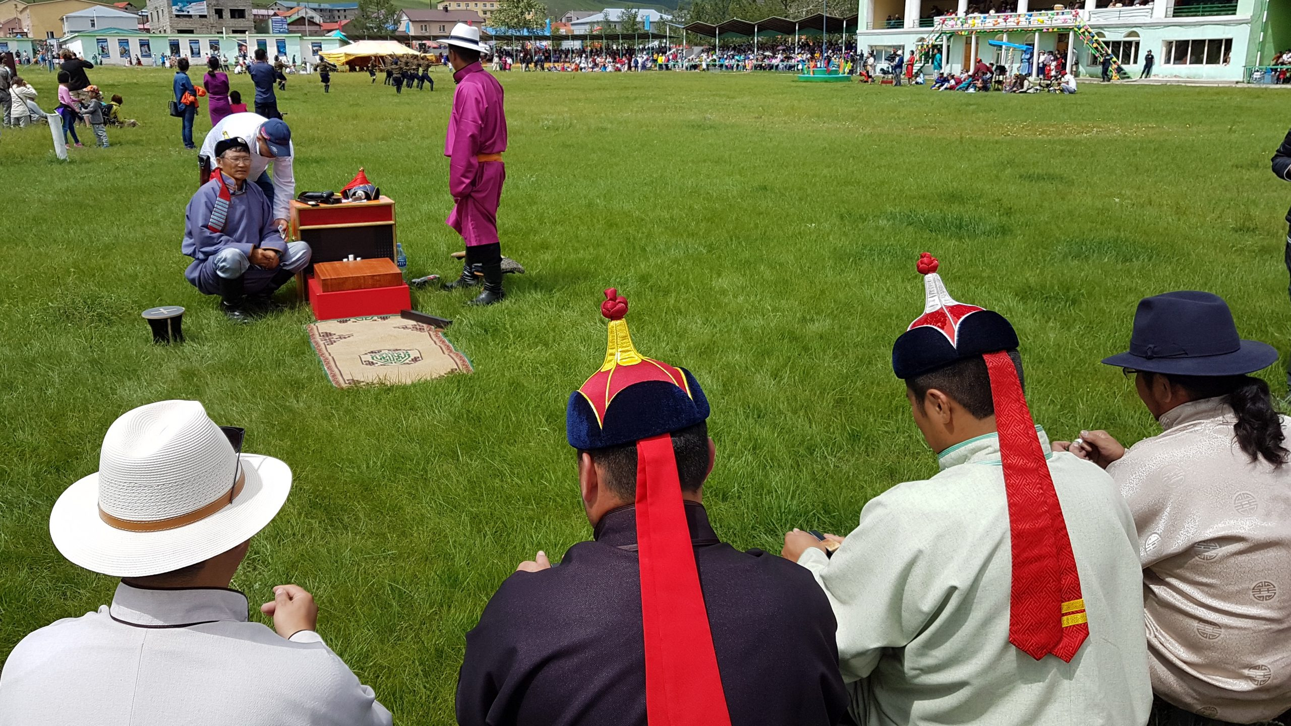 21 juillet - le festival du Naadam