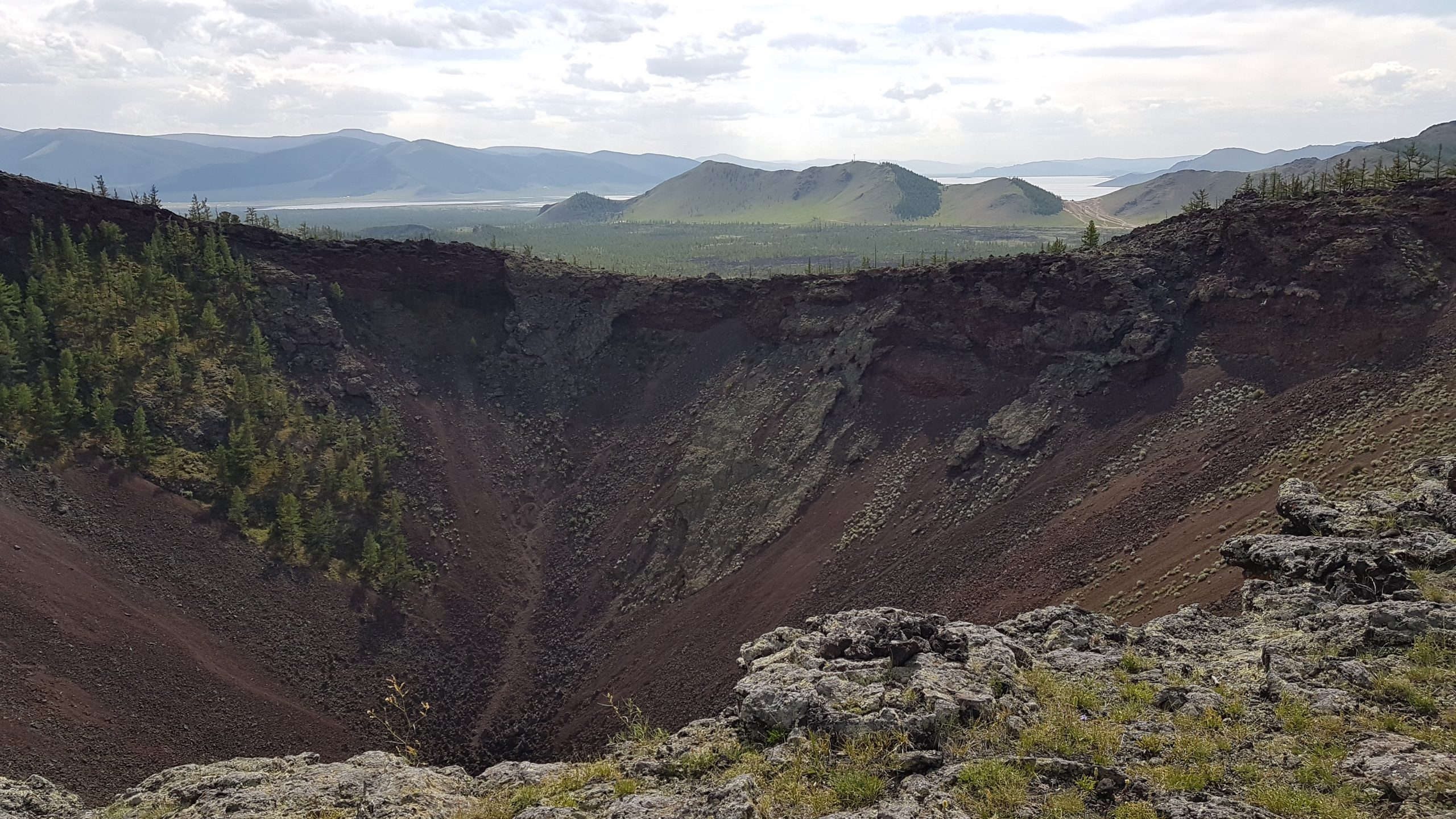 24 juillet : Le volcan Khorgo