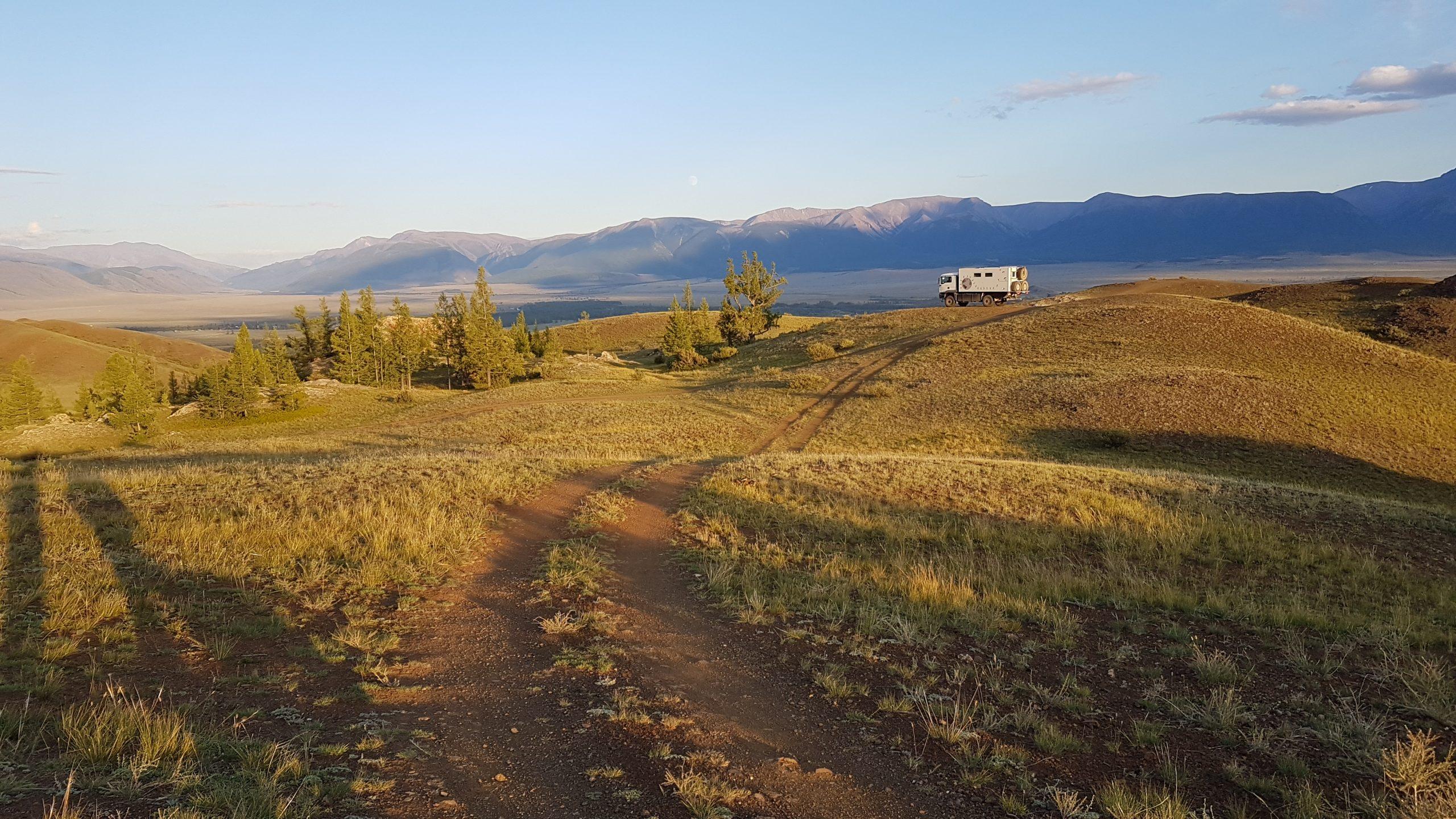 23 août : L'Altaï russe