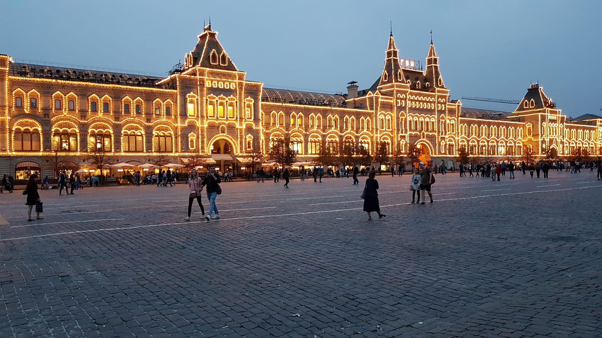 8-9 et 10 septembre : Nous revoilà à Moscou