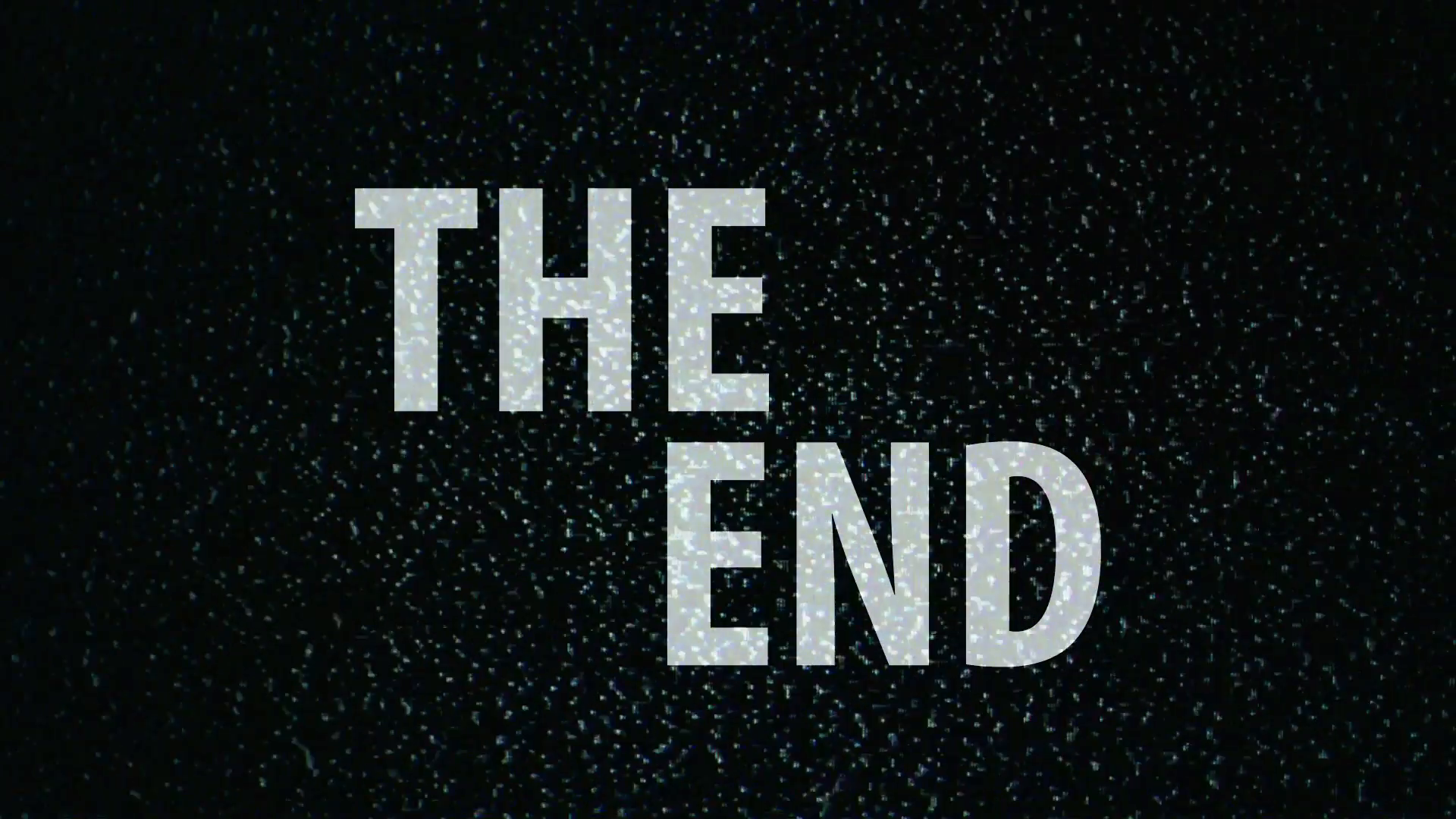 27 septembre : THE END