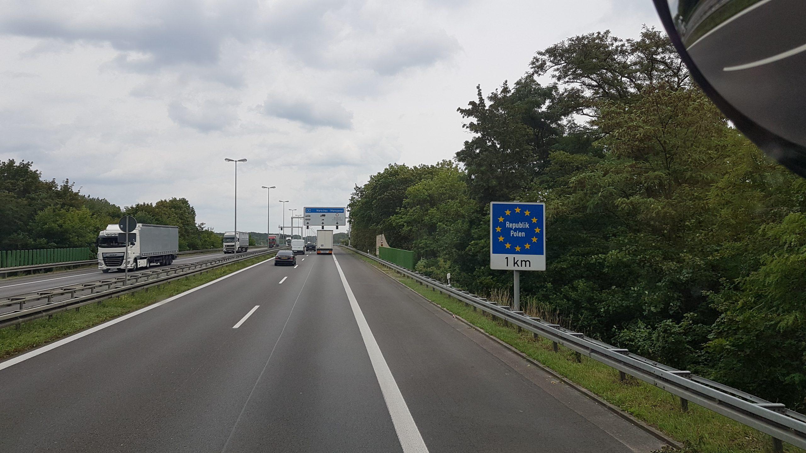 22 juillet : Entrée en Pologne