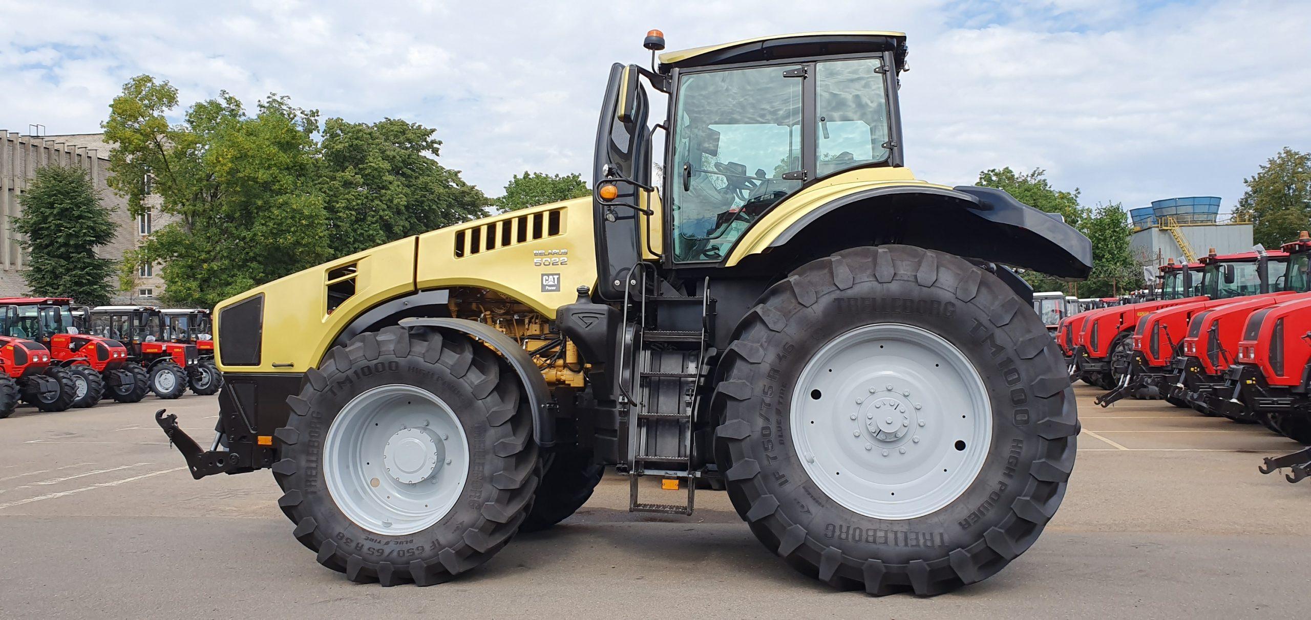 12 août : Les tracteurs Bélarus