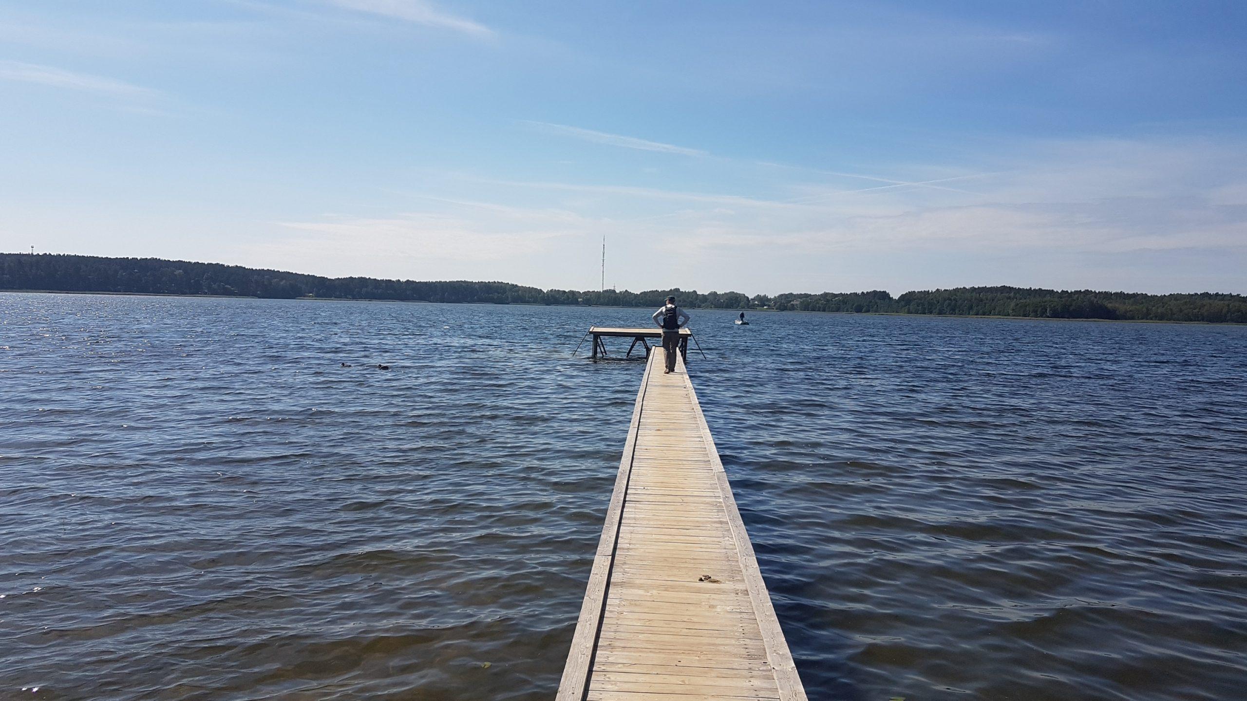 19 août : Parc national des lacs de Braslaw
