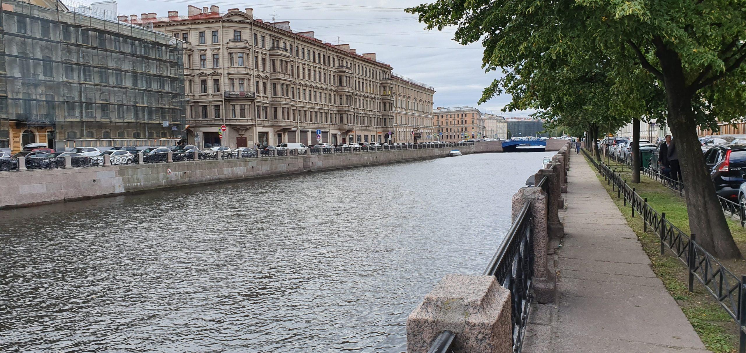 3 septembre : Saint- Pétersbourg - jour 1