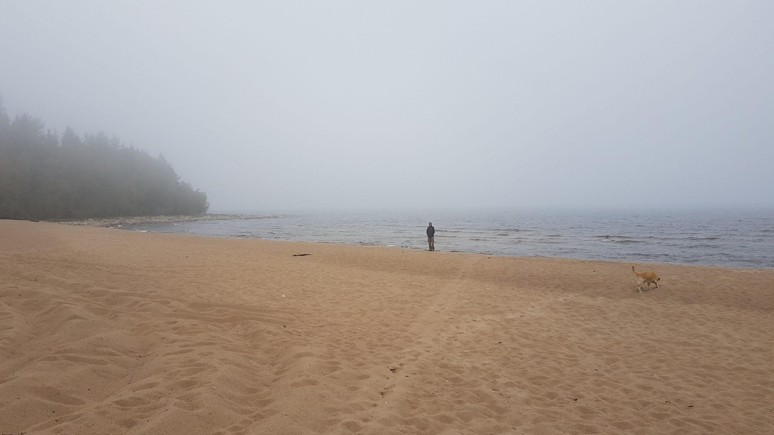 10 septembre : Au bord du lac Ladoga