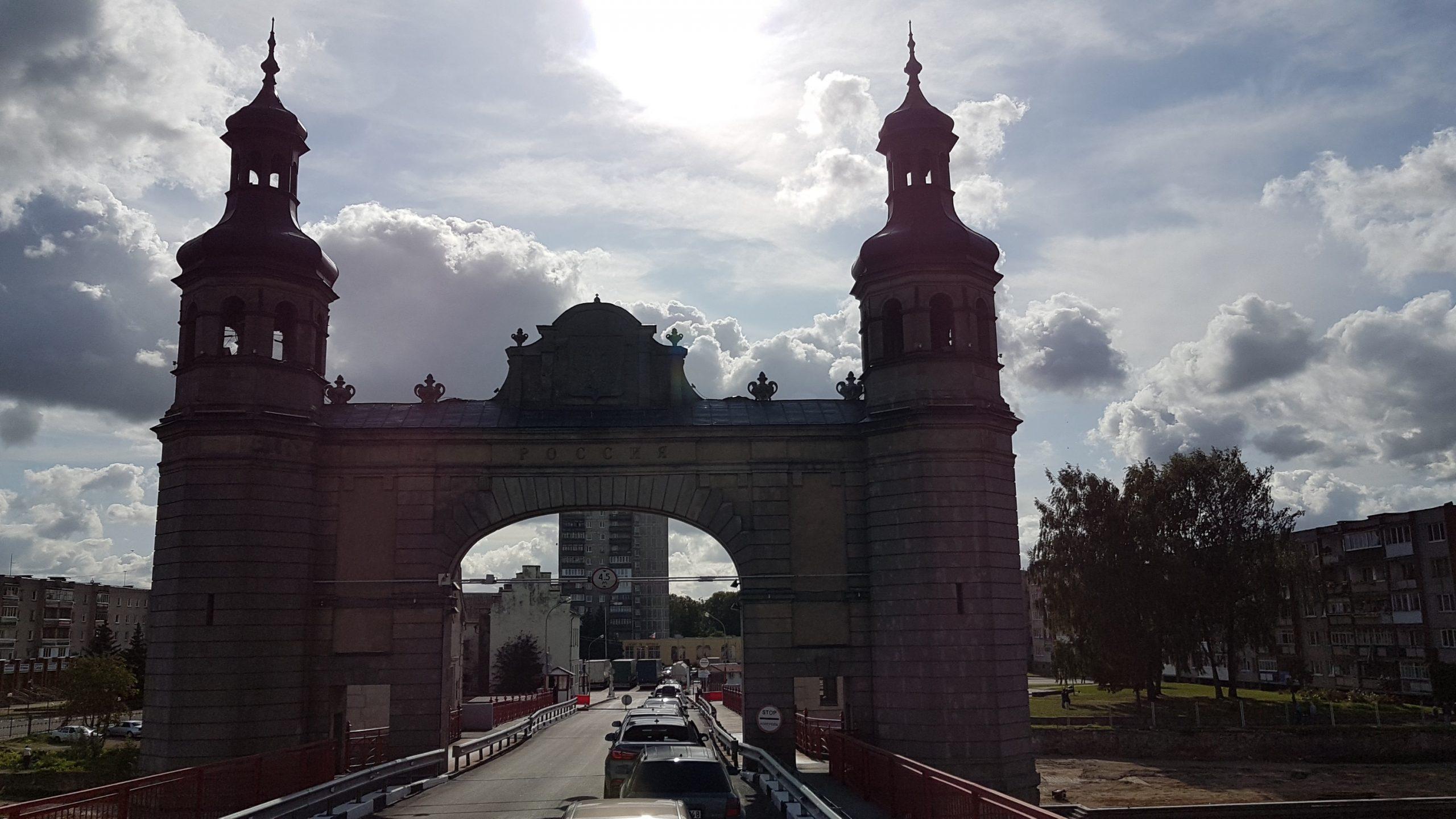 14 septembre : Arrivée à Kaliningrad