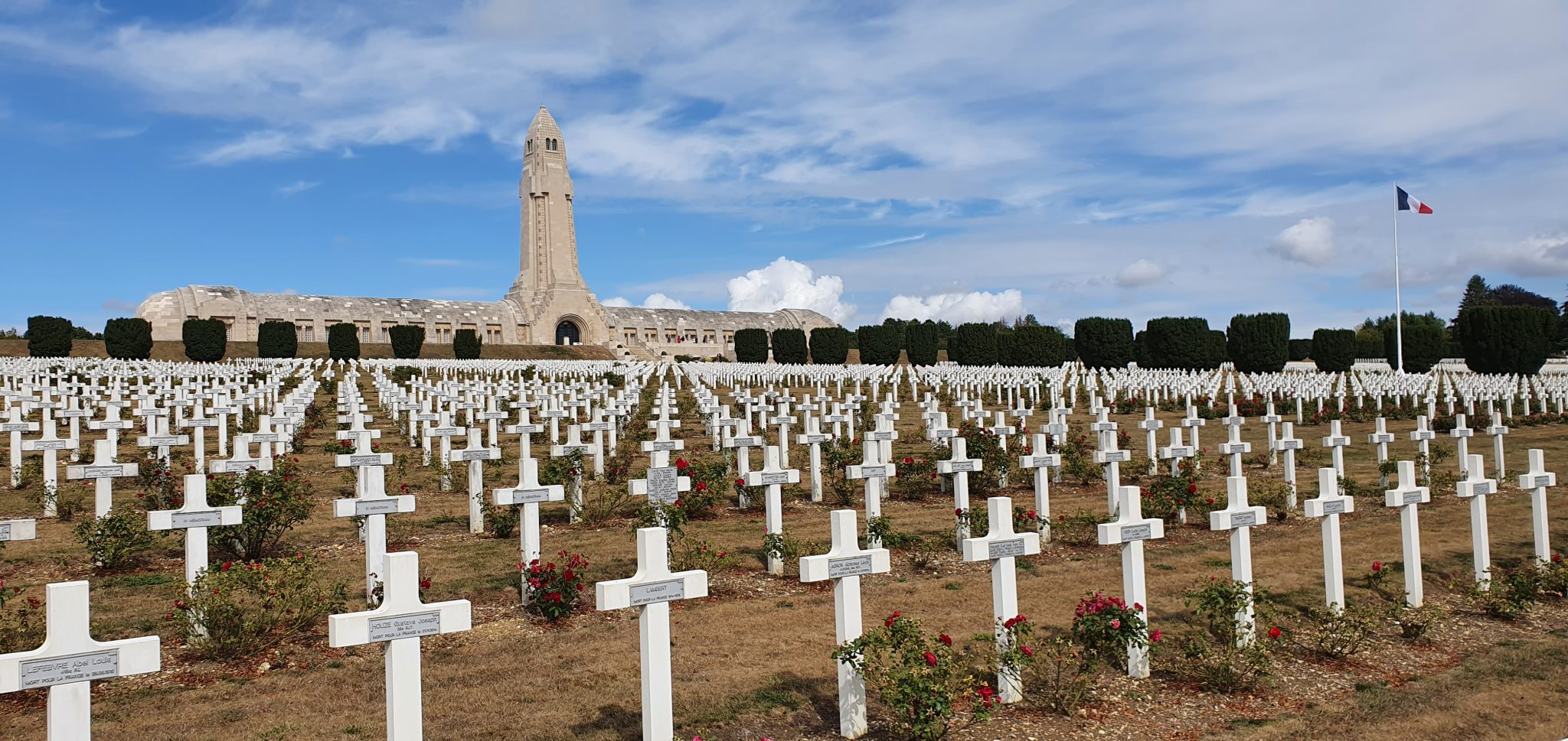 6 et 7 septembre : Le champ de bataille de Verdun