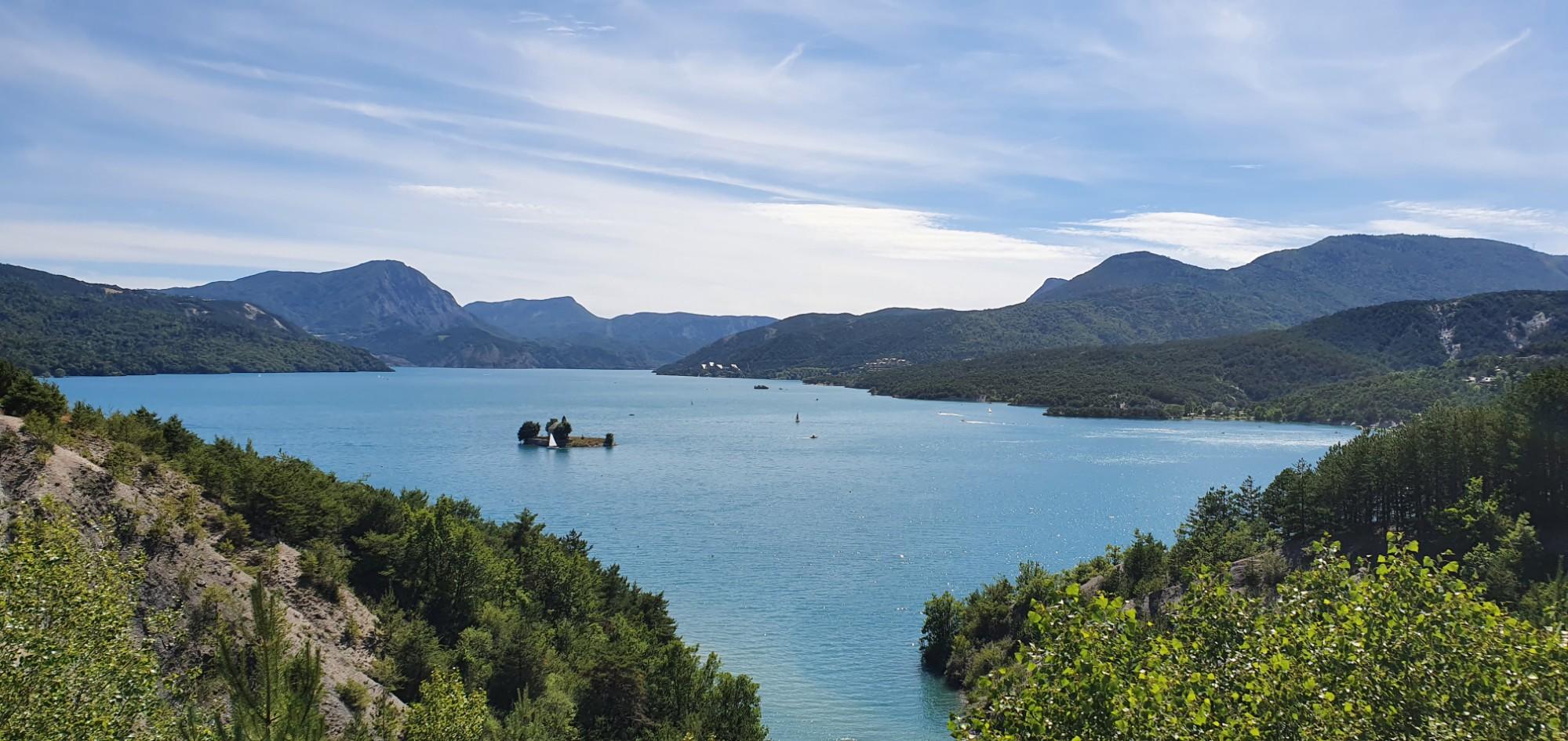 3 juillet : Lac de Serre-Ponçon
