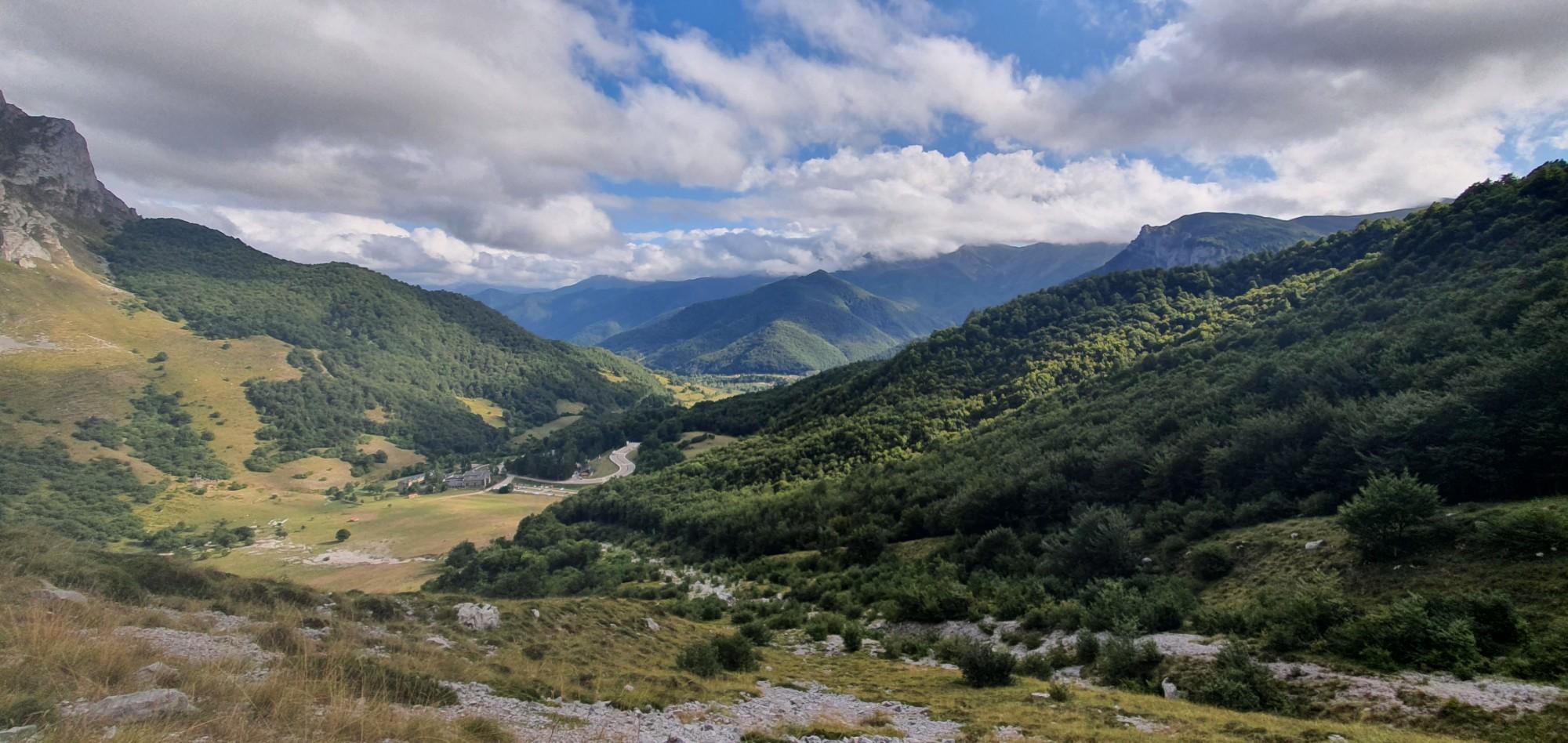 16 septembre : 1ère rando dans les Pics d'Europe