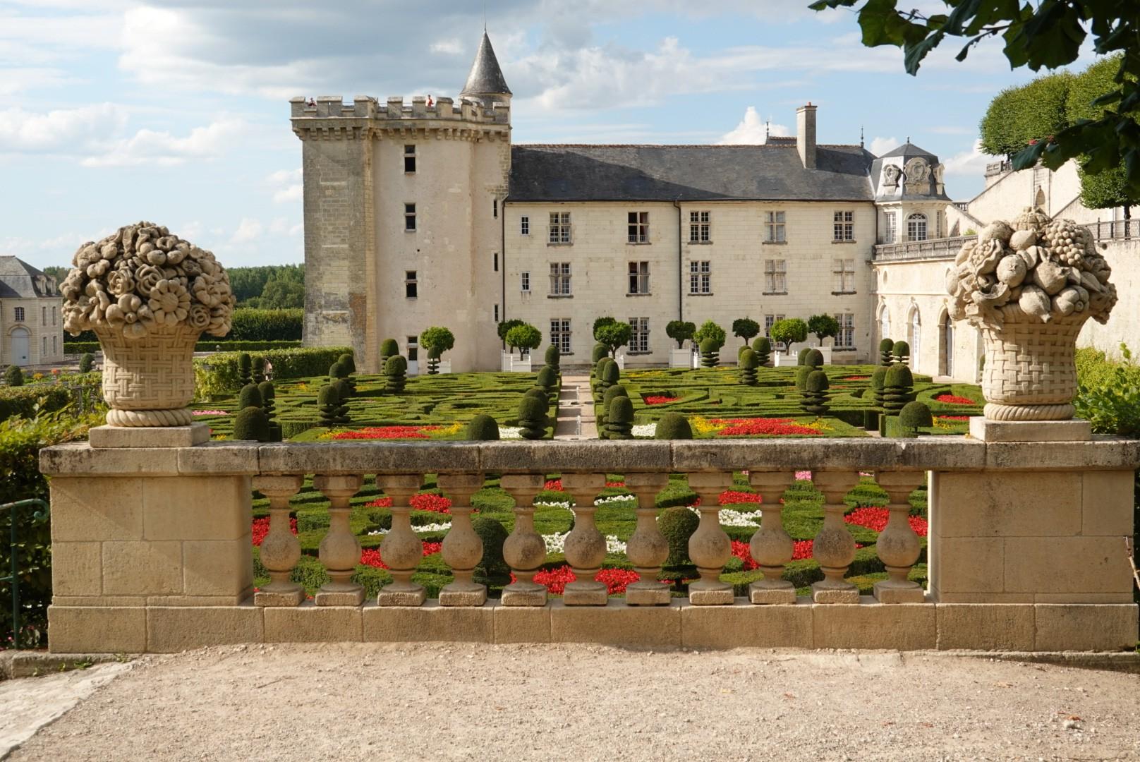3 septembre : Château de Villandry